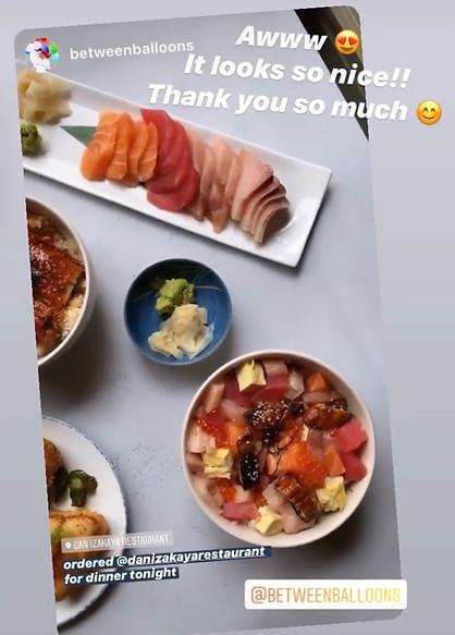 Bara Chirashi & Sashimi Set