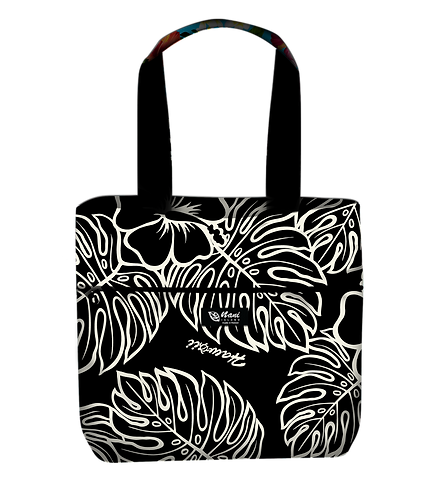 Monstera Lover Reversible Tote L