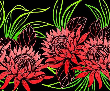 CHOE-513R BLACK RED