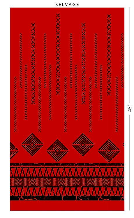 CHOE-499#2 Red Black