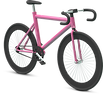 3D Pink Bicycle