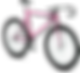 3D Pink Bicycle