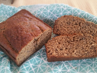 Whole Wheat Banana Bread... with a Secret Ingredient