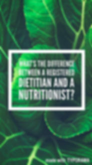 What is a dietitian