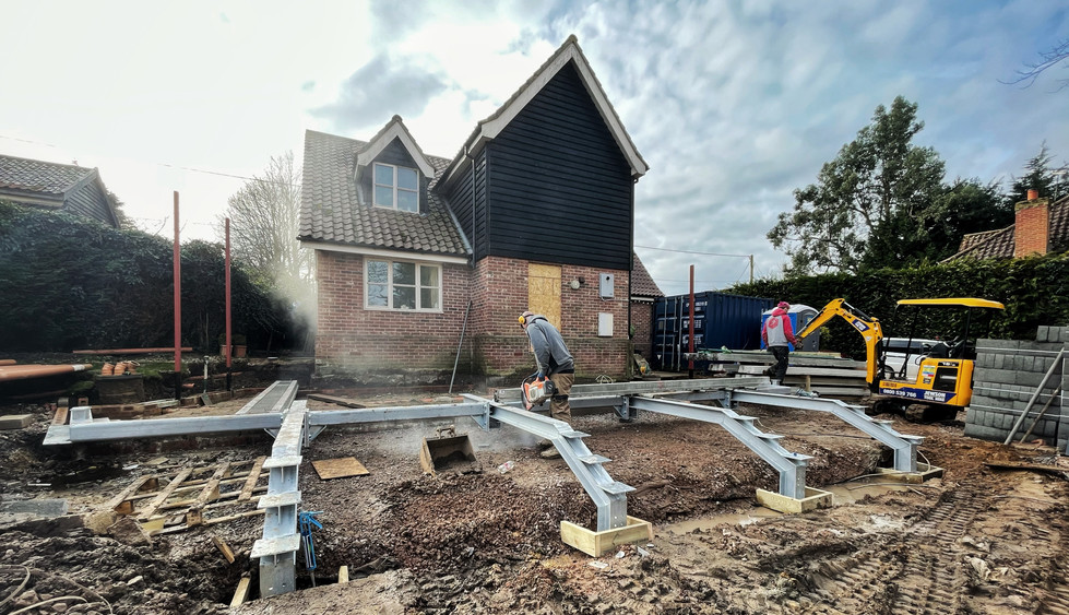 Willow Cottage Under Construction.JPG