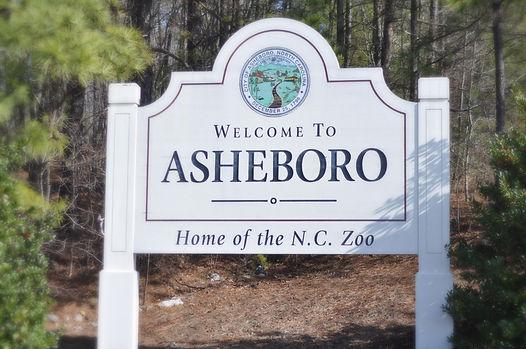 Bible Baptist Church of Asheboro | Images | Welcome to Asheboro Sign | NC Zoo | North Carolina Zoological Park