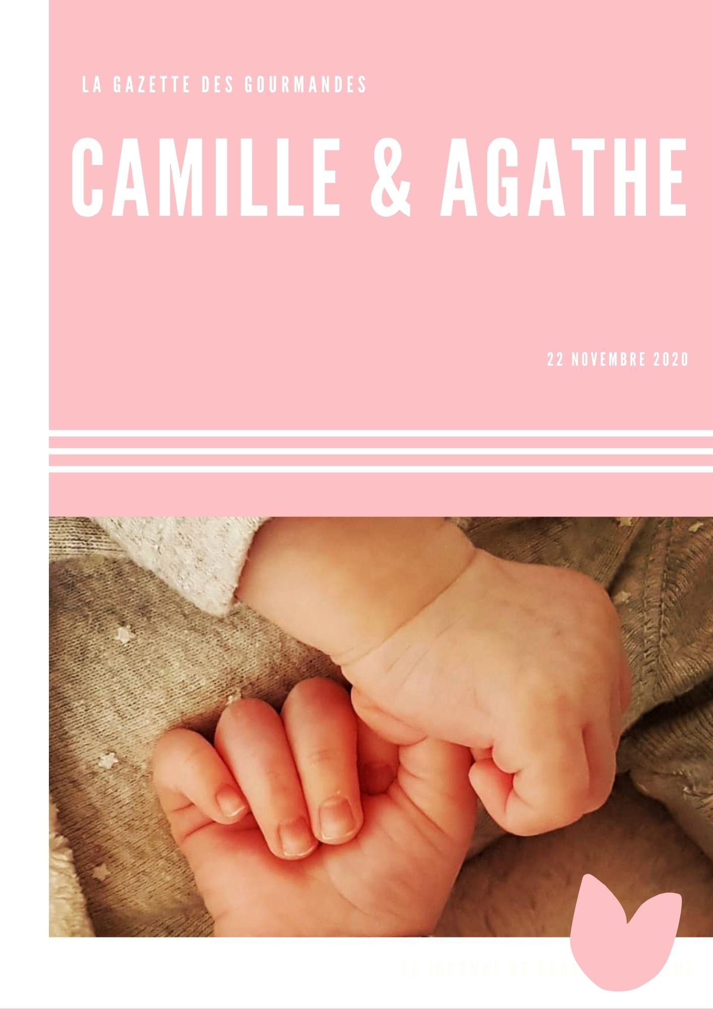 La gazette de Baptême de Camille & Agathe