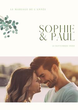 La gazette de Mariage de Sophie & Paul