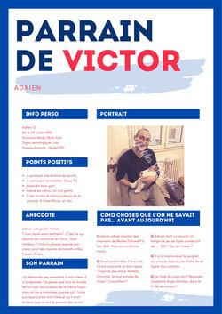 La gazette de Baptême de Léandre & Victor