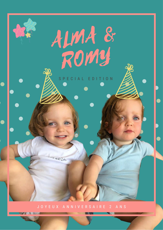 La gazette d'Anniversaire d'Alma & Romy