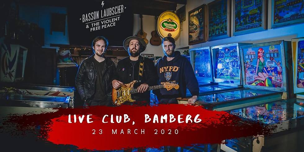 Basson Laubscher & The Violent Free Peace (ZA) @Live Club