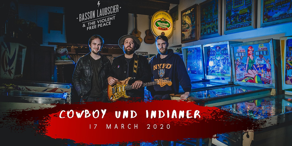 Basson Laubscher & The Violent Free Peace (ZA) @Cowboy und Indianer Day 1