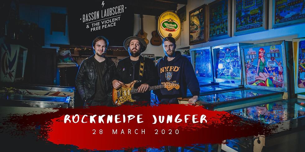 Basson Laubscher & The Violent Free Peace (ZA) @Rockkneipe Jungfer