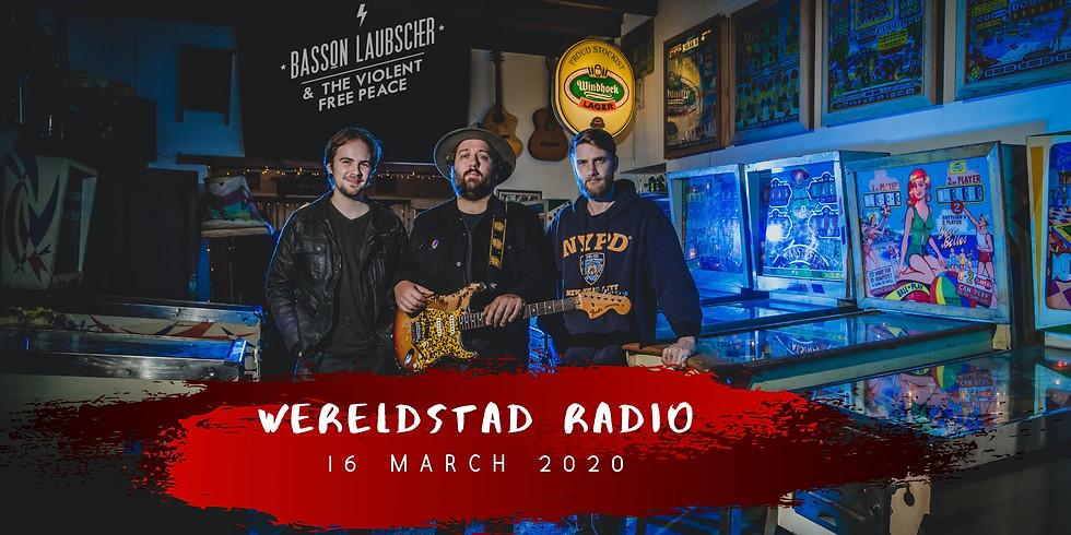 Basson Laubscher & The Violent Free Peace (ZA) @Wereldstad radio