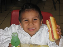 Boy with Hot Dog.PNG