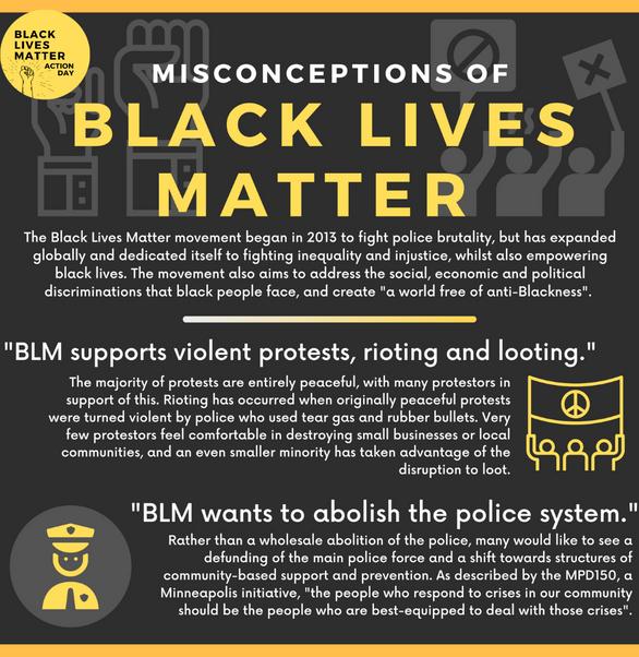 BLM Infographics