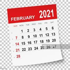 February 2021 Calendar is Ready
