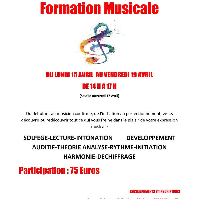 STAGE DE SOLFÈGE - Formation Musicale