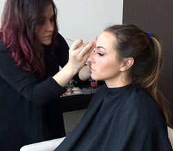 Makeup and Eyelashes
