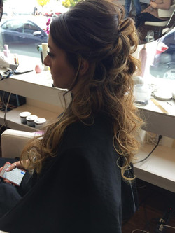 Side View Bridal Updo