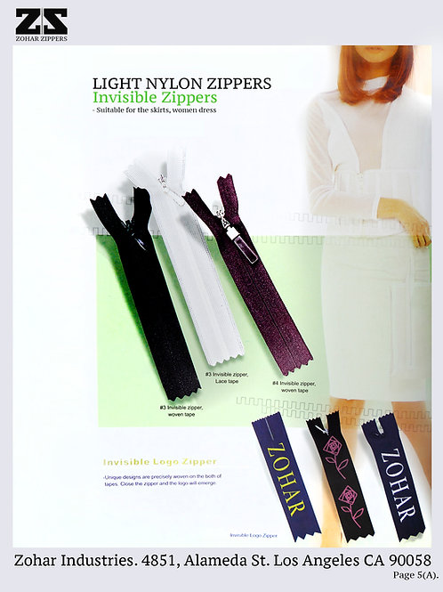 Nylon / Invisible Zippers