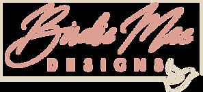 Birdie Mae Designs Custom Wedding Stationery Calligraphy Small Business Branding