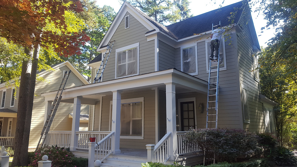 East Texas Craftsman painted this beautiful home located in Tyler, TX for a customer who wanted to put it on the market. As a painting contractor, we offer exterior and interior painting. Our company is located in Jacksonville Texas.