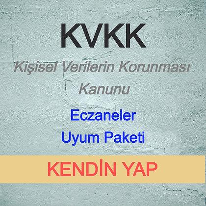 Eczaneler KVKK  Paket (KENDİN YAP) - V3.0