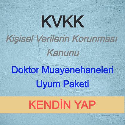 KVKK Doktor Muayenehanesi Paket (KENDİN YAP) - V3.1