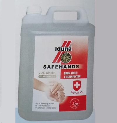 Iduna Safehands 5 litre el dezenfektanı