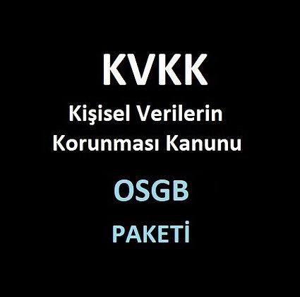 OSGB KVKK  Paketi - V3.0