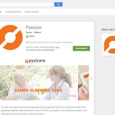 Pyxicare op Android: de nieuwe app is er