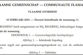 Vlaams woonzorgdecreet maakt BelRAI verplicht