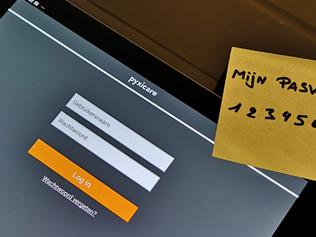 Nieuw in Pyxicare: stel zelf je wachtwoord in