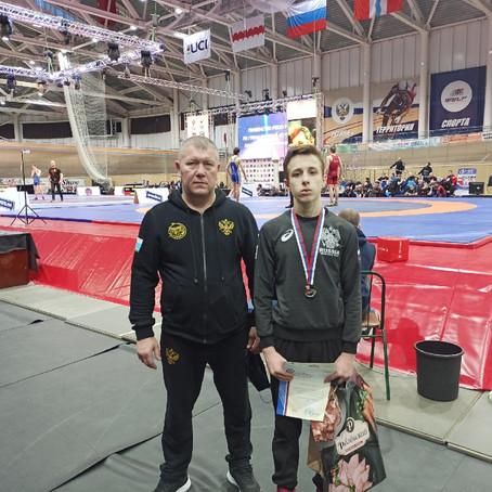 Серебряный призёр Первенства России