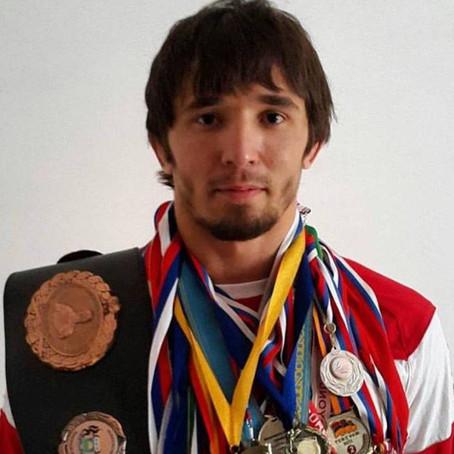 Поздравляем Оздоева Бекхана - победителя международного турнира по греко-римской борьбе на Кубок Бол
