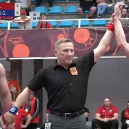 Илья Ермоленко в финале Первенства Европы!