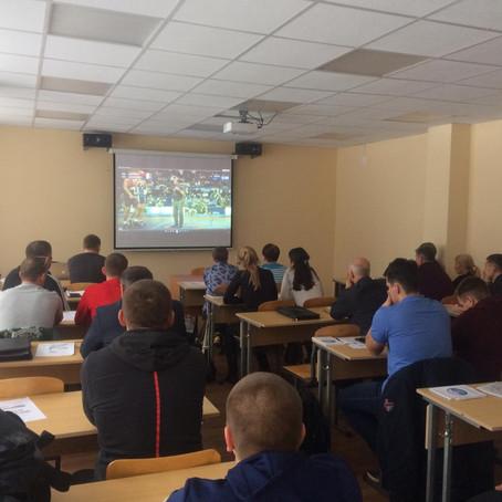 Первый судейский семинар по спортивной борьбе в Свердловской области