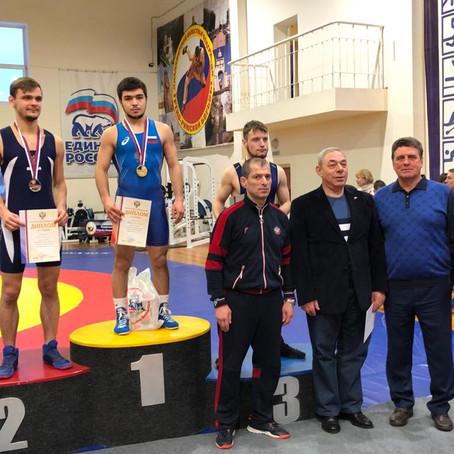 Чемпионат России по спортивной борьбе среди слабослышащих спортсменов
