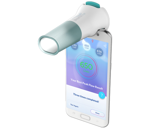 Breath.me - World's first affordable smart spirometry - revealed