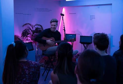 Sofar Sounds Matt Walden Concert