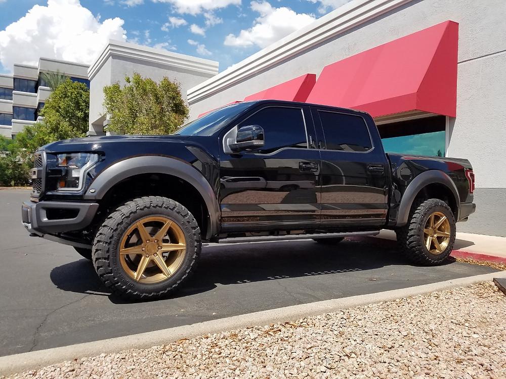 2017 Ford Raptor Black
