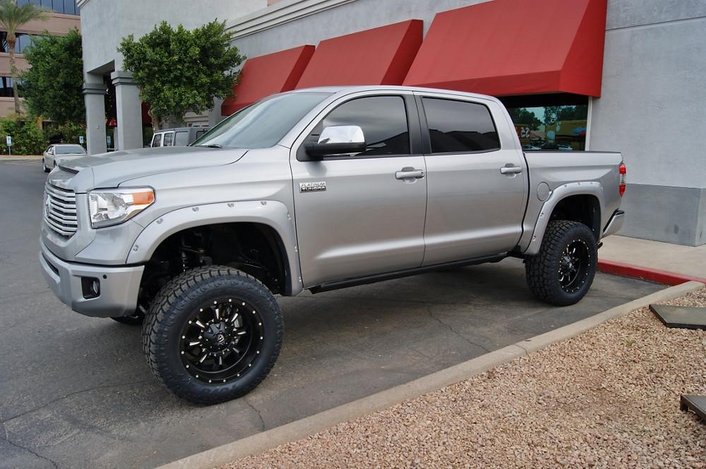 2015 Toyota Tundra Crew Max Silver