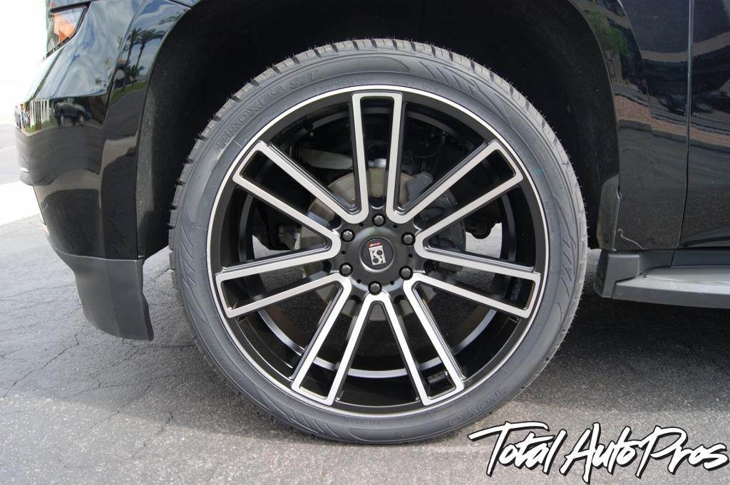 2015 Chevrolet Tahoe Black