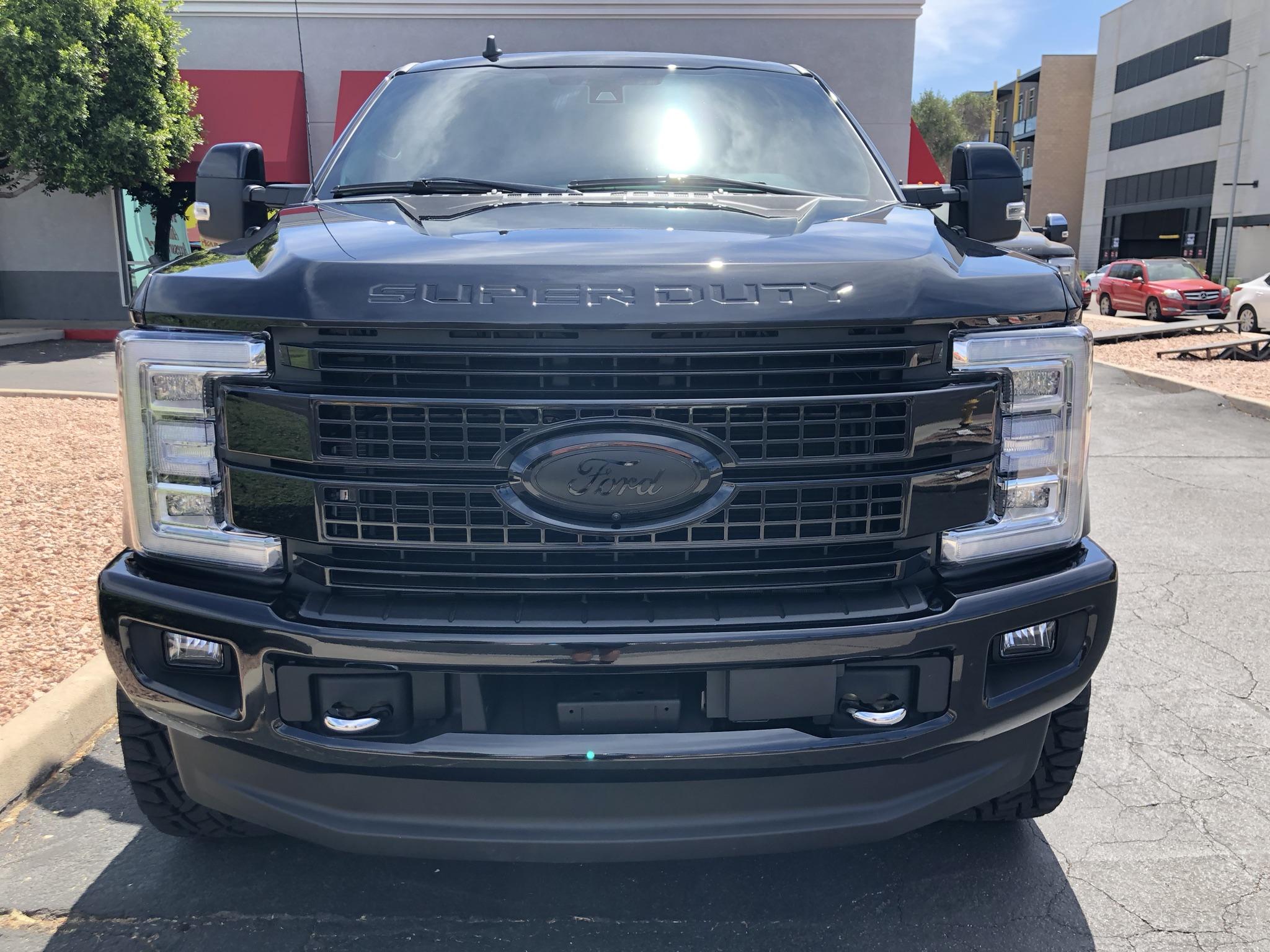 2019 Ford F250 Platinum