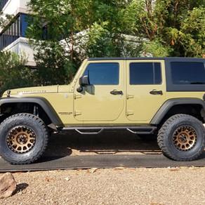 2013 Jeep Wrangler Green
