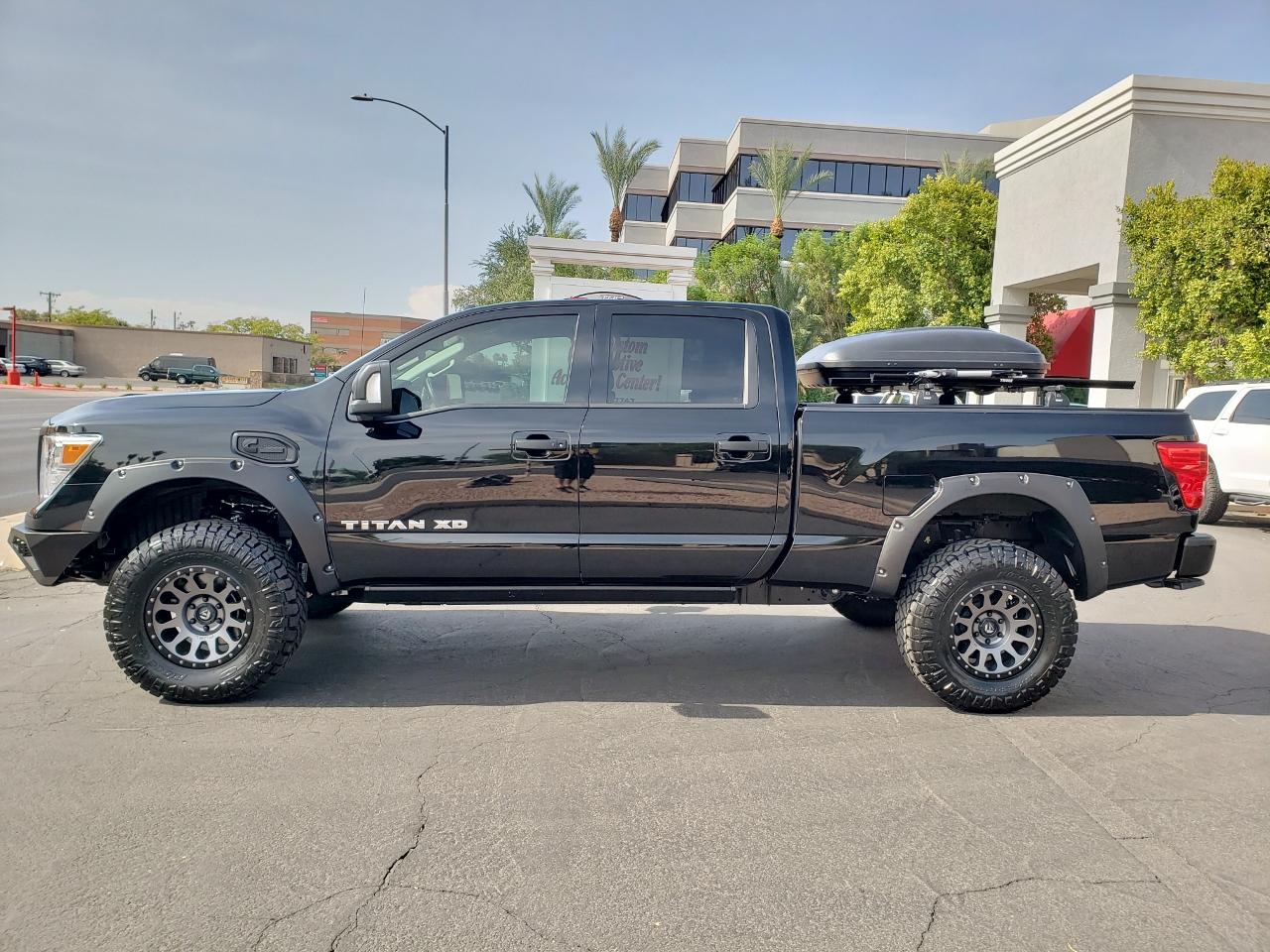 2018 Nissan Titan XD Black