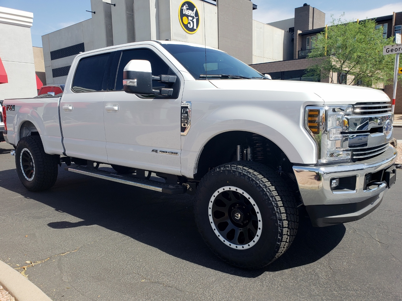 2018 Ford F250 Superduty White