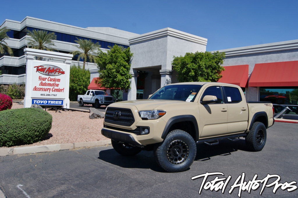 2016 Toyota Tacoma Quicksand Method Wheels Toyo Tires (2)