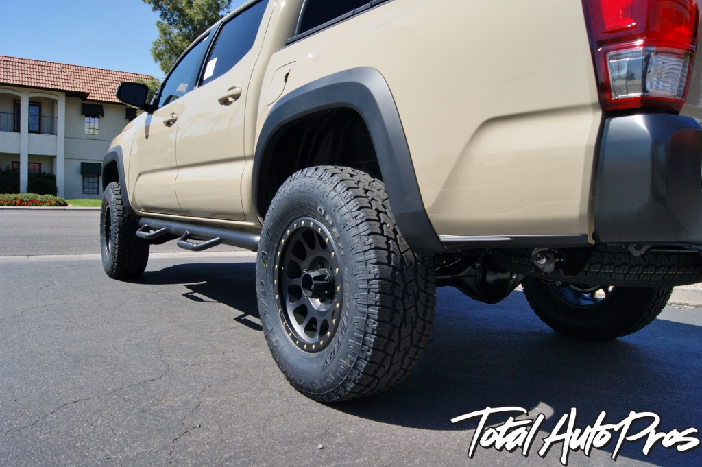 2016 Toyota Tacoma Quicksand Method Wheels Toyo Tires (10)